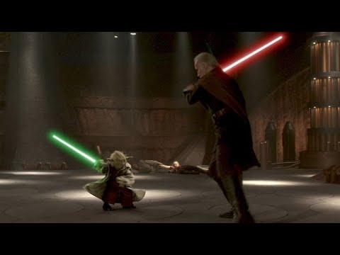 Yoda vs Dooku - YouTube