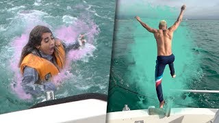 Retos extremos en un barco con mi novio