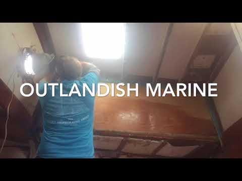 Island Trader 41 Aft Cabin Repair