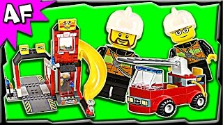 Lego City Fire Emergency 10671 Juniors Stop Motion Build Review