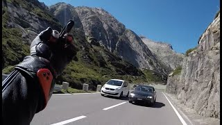 Ride The Alps - One long motorcycle sunday in Switzerland - GoPro