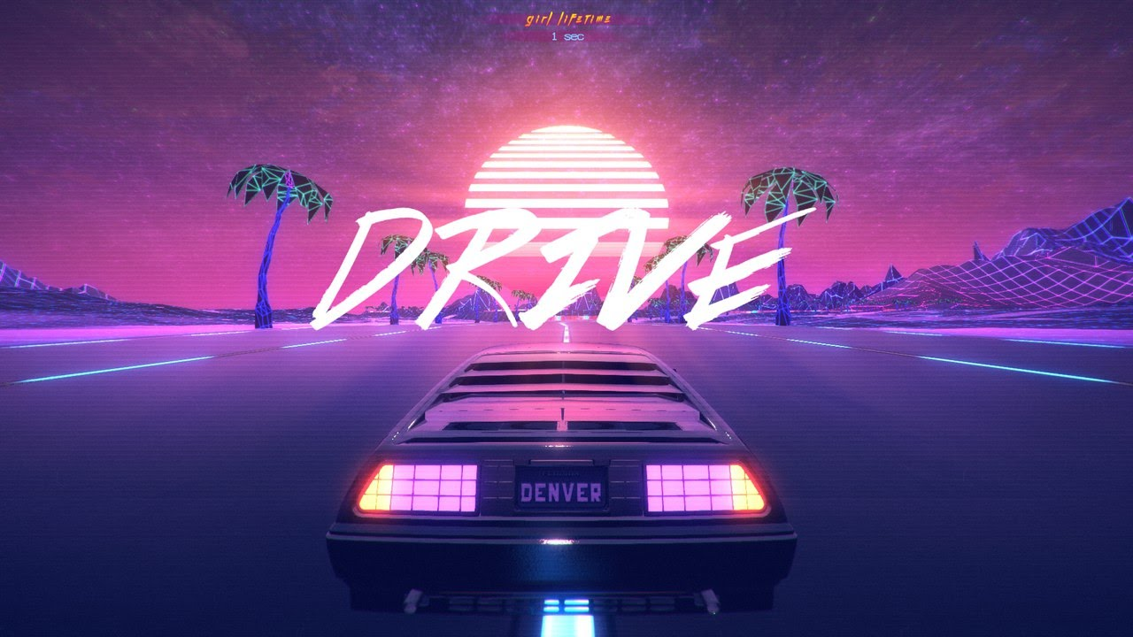 Good Night Quotes Wallpaper Hd Outdrive Neon 80 S Aesthetic Youtube