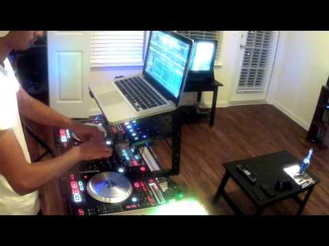 "Hip Hop Rap Mix 1 (DJ Aurora) ""Live"" (HD) NumarkNs6"