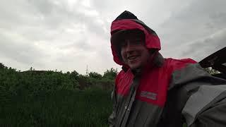 Такое не забудешь никогда Рыбалка во время суточного дождя Сутки ловим карася