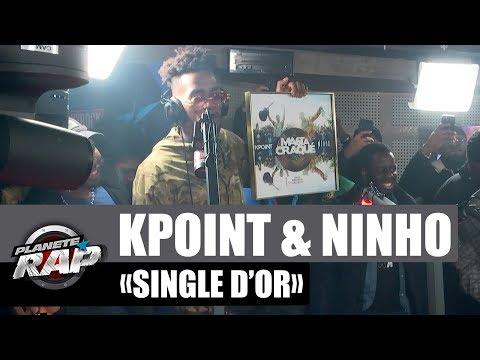 """Kpoint & Ninho - Single d'or """"Ma 6t a craqué"""" #PlanèteRap"""