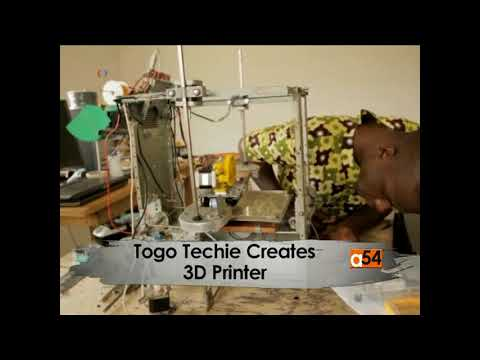 Togo Techie Produces a 3D Printer