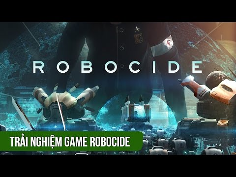 Trải nghiệm game chiến thuật Robocide - iOS