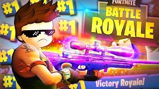 Die BESTE SNIPER im SPIEL!? | Fortnite Battle Royale - (Only Sniper Challenge)