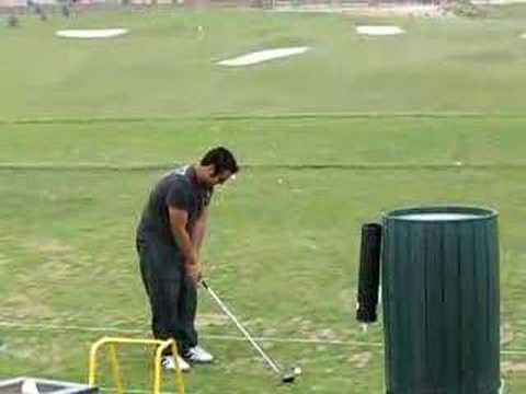Best shot at driving range ever youtube for Verlichte driving range