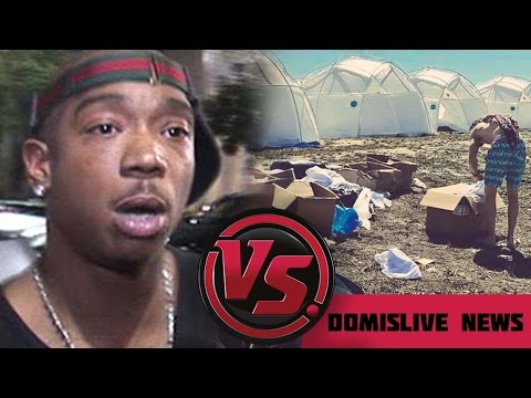 Ja Rule Fyre Festival FAILS in the Bahamas | Lil Yachty, Migos & Blink 182 Fails to Show