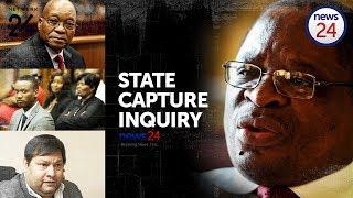 WATCH LIVE: #StateCaptureInquiry  - Mcebisi Jonas takes stand on Day 3