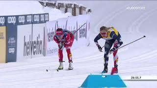 Шикарная гонка и божественный победный финиш Ступак на Тур де Ски