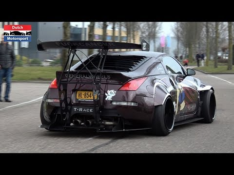 Nissan 350Z Compilation - BRUTAL Sounds!