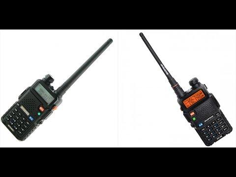 Kenwood TK-F8 и BAOFENG UV-5R