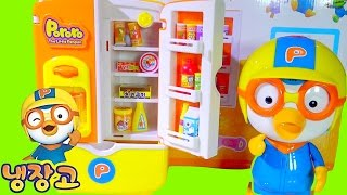 Pororo Refrigerator 뽀로로 냉장고 Mickey Mouse Toy Dispenser - Kids' Toys