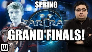 Starcraft 2 WCS Spring 2019 GRAND FINALS! Serral (Zerg) vs Special (Terran)