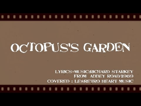 Ukulele The Beatles Octopus 39 S Garden With Lyrics Le Retro Heart Music Youtube