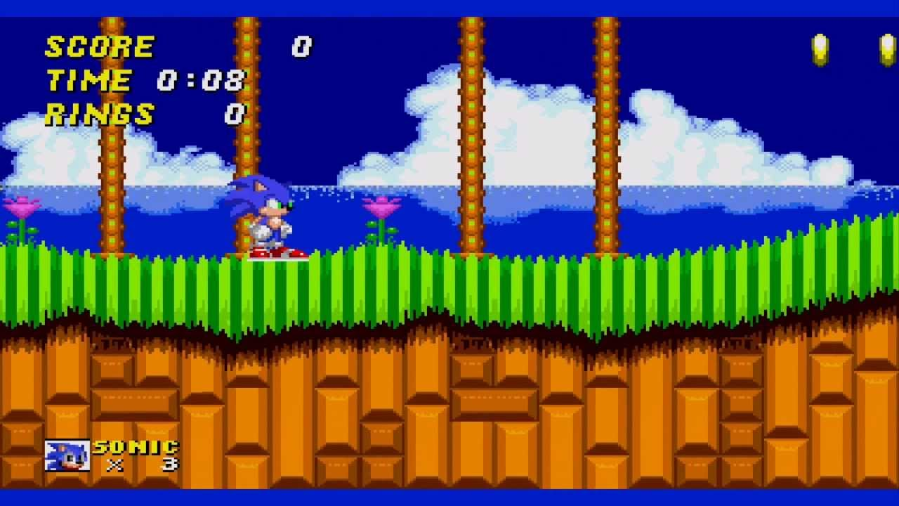 Sonic generations in sonic 2 hack preview youtube