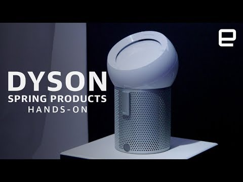 Dyson 2019 products Hands-On