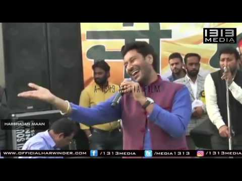 Harbhajan Maan Latest New Live Show 2017 Official Full HD Video New Performance Mela