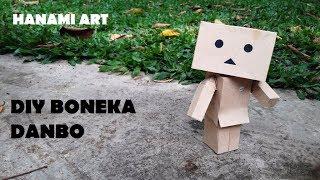 Cara Membuat Boneka Danbo Dari Kertas / DIY Danbo Doll