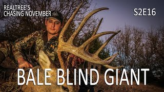 Chasing November S2E16: 160-Inch Buck from Bale Blind, Kansas Bowhunting