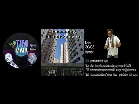 Assista: Projeto Cidade Unida - Condomínio Solar de Santana - Tributo Tim Maia