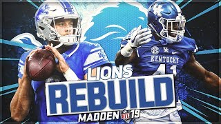 Rebuilding The Detroit Lions | Can Stafford END The Curse?! | Madden 19 Franchise Mode