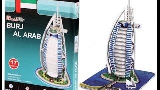 3D puzzle Burj Al Arab)