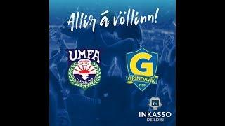 Afturelding - Grindavík   Inkasso-deild kvenna   30. júlí 2019 Útsending hefst fimm mínútum fyrir leik.