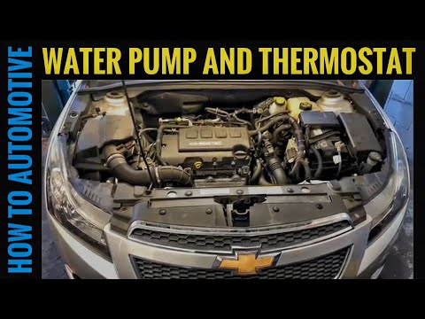 How to Replace the Water Pump on a Chevy Cruze with 1.4L Engine