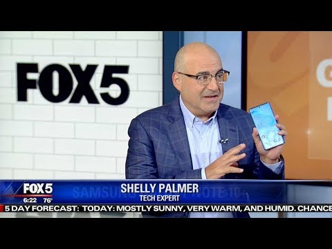 Samsung Galaxy Note 10 Review | Shelly Palmer on Fox 5