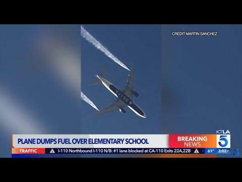 FAA Investigating Jet Fuel Dumped on Los Angeles-Area Schools