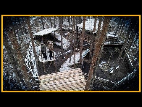 Bushcraft Camp: XXL - Es wird gigantisch! - Bushcraft Shelter Lagerbau