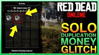SOLO Red Dead Online Money Glitch $25000+/HOUR Red Dead Online Money Glitch! RDR2 Money Glitch