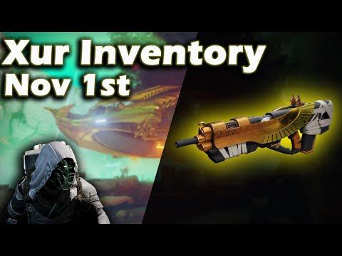 Destiny 2: Shadowkeep - Where is Xur Nov 1st - Location, Inventory & Perks   Exotic Armor
