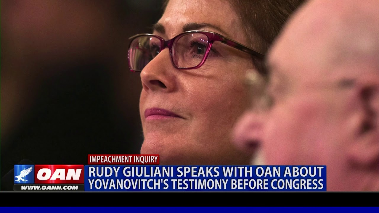 Rudy Giuliani speaks with OAN about Yovanovitch�s testimony
