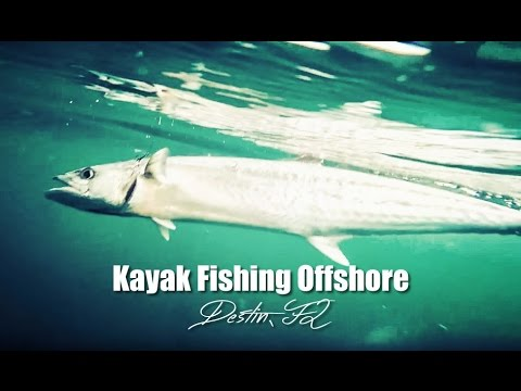 Kayak Fishing Offshore in the Gulf of Mexico