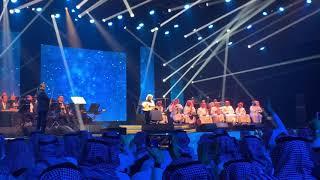 خالد عبدالرحمن مع الجمهور تقوى الهجر | حفلة العيد الطائف 2019