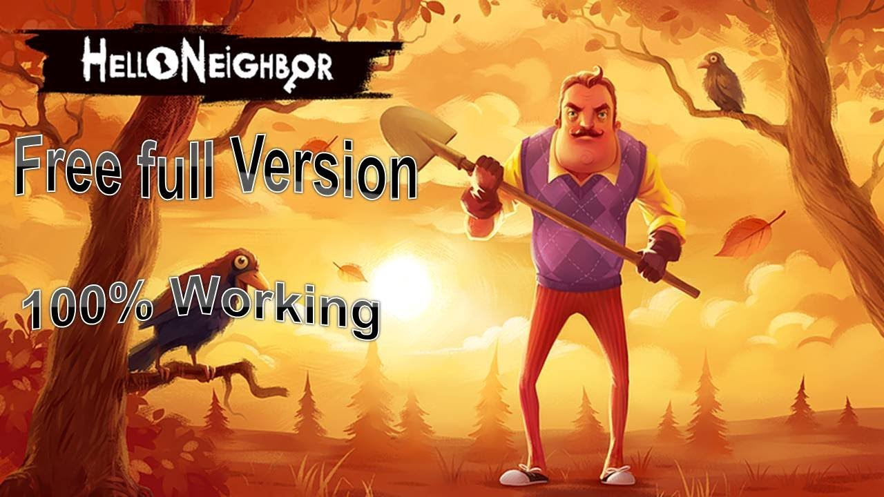 How To Download Hello Neighbor Game Free For Pc Full