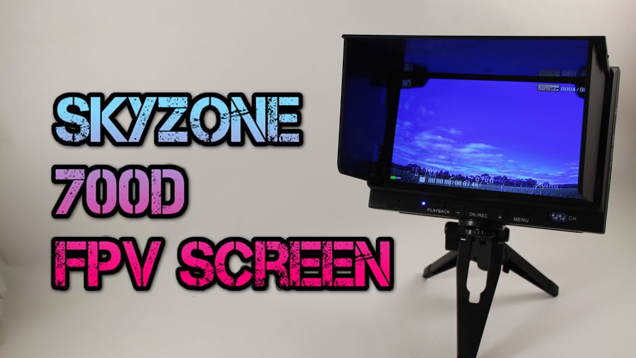 Skyzone 700D Review. FPV screen with diversity a…