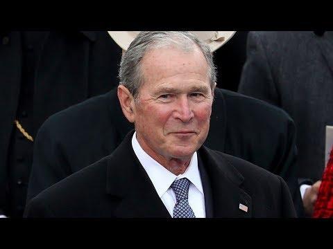 #TheResistance Heaps Praise On George W. Bush