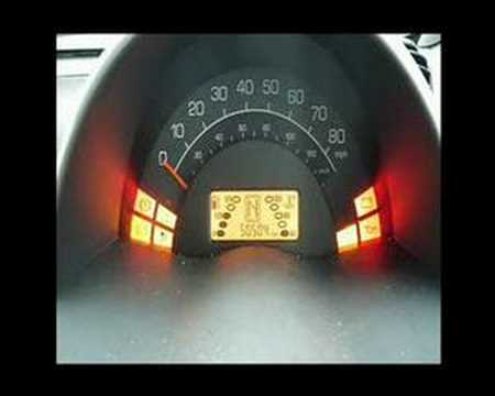Smart Fortwo Odometer Esp Fault Youtube