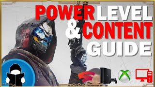 Destiny 2 New Liġht Power Leveling and Content Guide | Getting Started