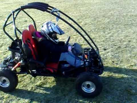 Carly skye's 50cc buggy