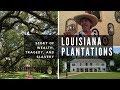 LOUISIANA PLANTATIONS TOUR and VLOG