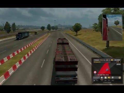 Euro Truck Simulator 2 #1 amman abi sinyalleri yakalım !!! (yılbaşı özel)