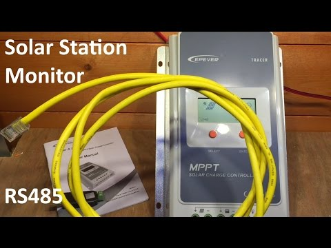 EPSolar Solar Station Monitor software & a cheap USB cable - 12v Solar Shed