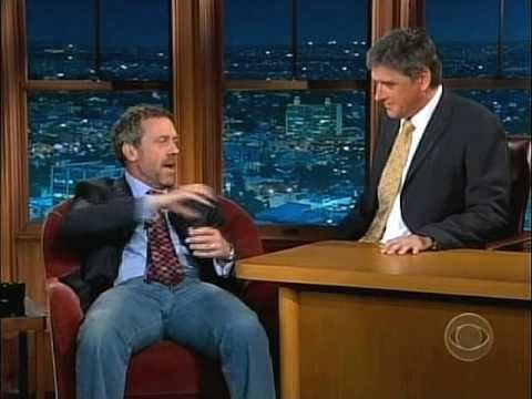 Craig Ferguson / Hugh Laurie Man-love - YouTube