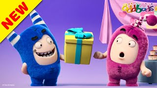 Oddbods | NEW | BIRTHDAY GIFT TO YOU | Funny Cartoons For Kids